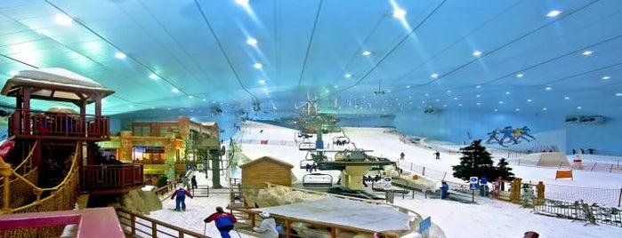 Ski Dubai is one of Dubai's very best Places = P.Favs.