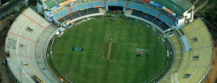 Rajiv Gandhi Cricket Stadium is one of Game venue.