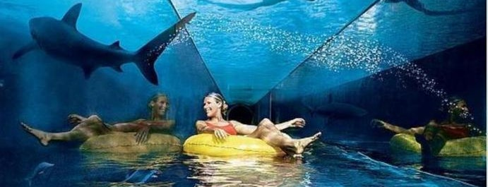 Aquaventure Waterpark is one of Dubai List.