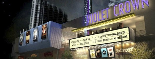 Violet Crown Cinema is one of Austin.