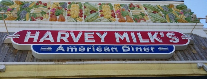 Harvey Milk's American Diner is one of San Diego 2014.