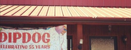 Dip Dog Stand is one of Locais salvos de Adam.