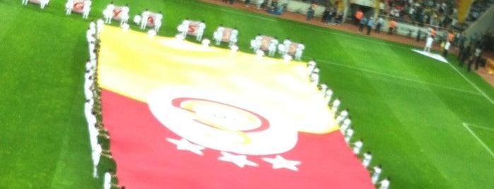Kadir Has Şehir Stadyumu is one of Türkiye Süper Lig Stadyumu (Season 2013-2014).