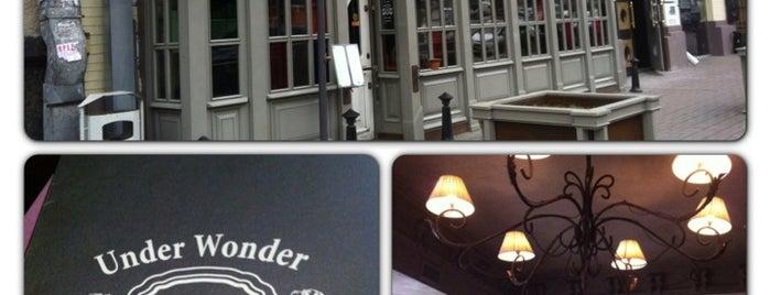 Андер Вандер / Under Wonder is one of ТОП 100 киевских ресторана со скидкой до 50%.