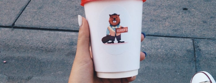 Beaver's Coffee is one of Posti che sono piaciuti a Ася.