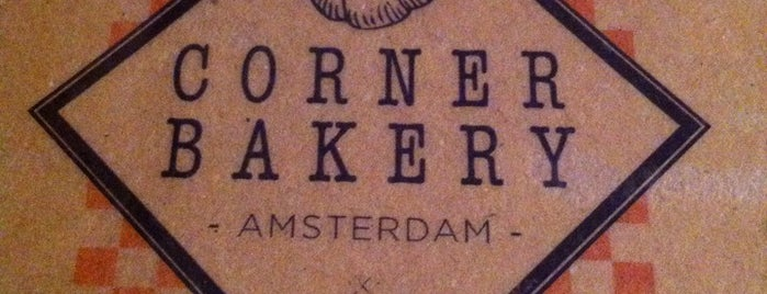 Corner Bakery is one of Amsterdam.