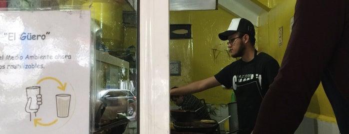 Tacos Hola el Güero is one of Mexico City.