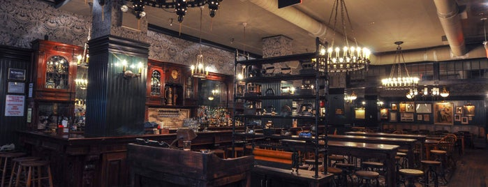 Flatiron Hall Restaurant and Beer Cellar is one of TFF 2014: Featured Eat & Drink Specials.