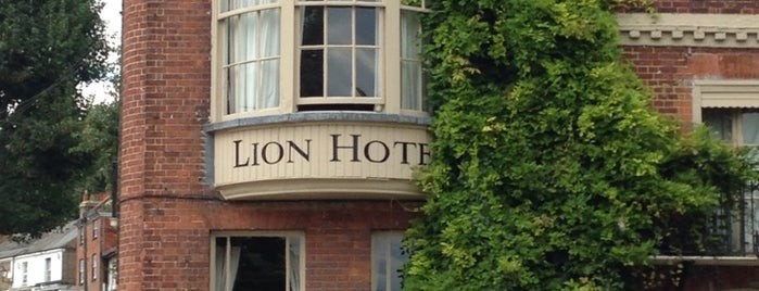 Lion Hotel is one of Kent.