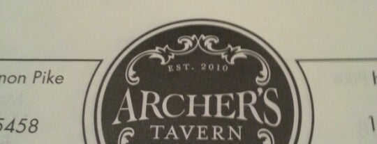 Archer's Tavern is one of Lieux qui ont plu à Tom.