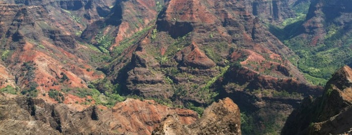 Waimea Canyon Lookout is one of Hawaii.