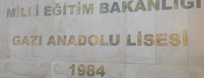Gazi Anadolu Lisesi is one of Posti che sono piaciuti a Nergis.