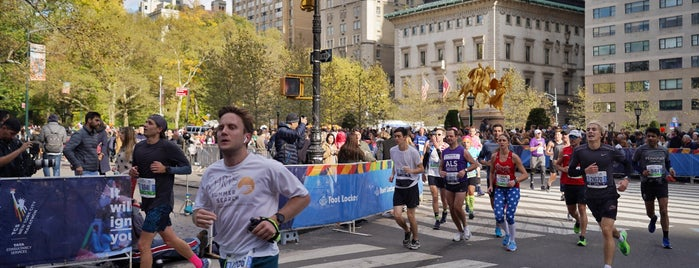 TCS New York City Marathon is one of Karen'in Beğendiği Mekanlar.