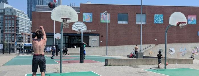 Toronto Basketball Courts