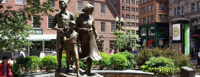 Irish Famine Memorial is one of Boston, MA.