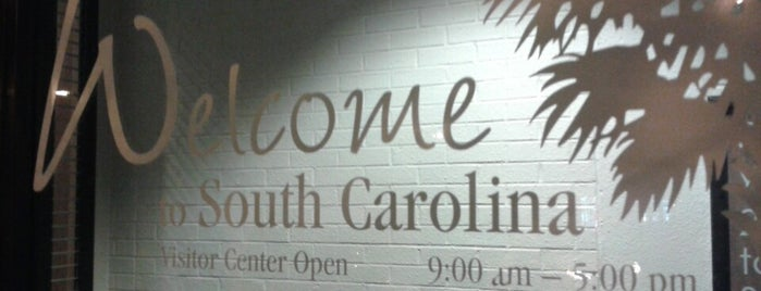 South Carolina Welcome Center is one of สถานที่ที่ Christina ถูกใจ.