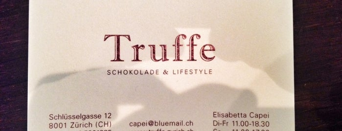 Truffe is one of Euro Trip 2019.