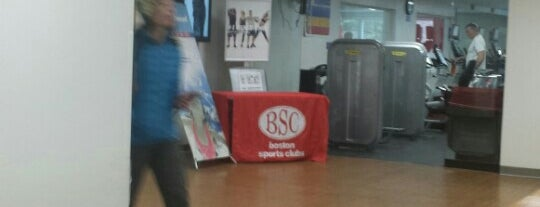 Boston Sports Clubs is one of Locais curtidos por Justin.