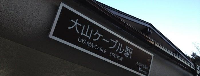 Oyama Cable Station is one of Tempat yang Disukai 🍩.