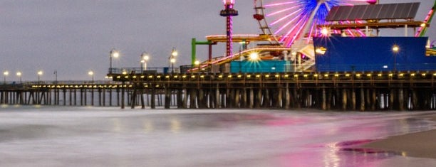 Santa Monica Pier is one of The Great American Road Trip.
