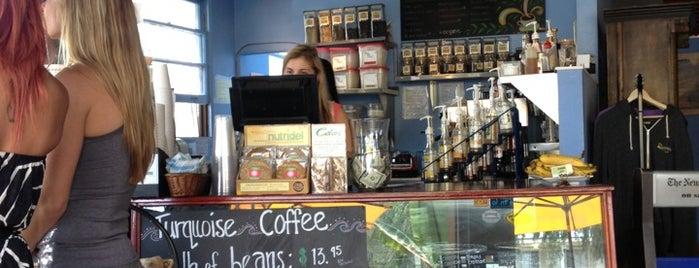Turquoise Coffee is one of Gespeicherte Orte von Noah.