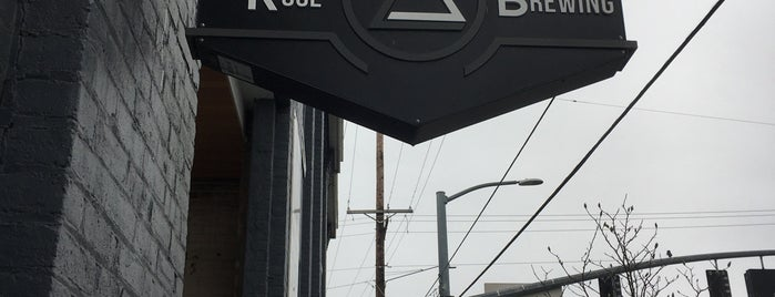 Ruse Brewing is one of Portland.