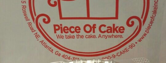 Piece of Cake is one of Food Favorites.