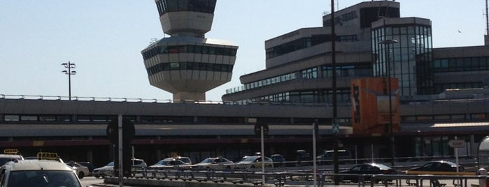 Berlin Tegel Otto Lilienthal Havalimanı (TXL) is one of Airports.