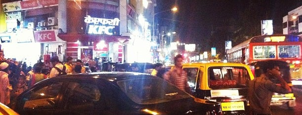 Linking Road is one of India.