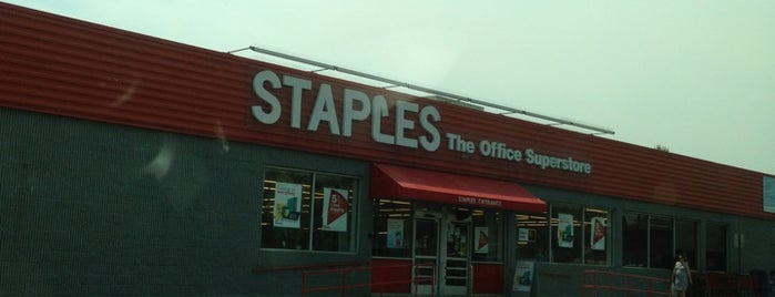 Staples is one of Locais curtidos por Sunjay.