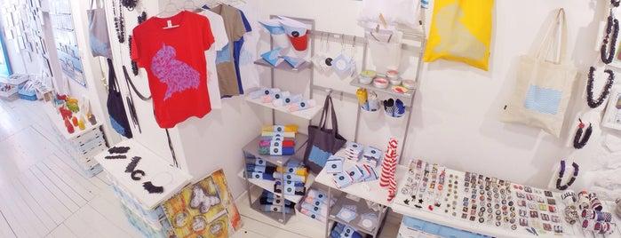 Atelier galerija Brek is one of Rovinj, Croacia.