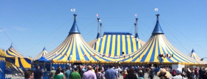 Cirque du Soleil KURIOS is one of Alan : понравившиеся места.