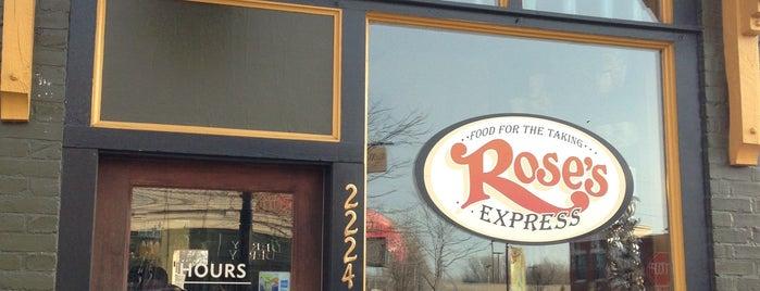Rose's Express is one of Favorite GR Restaurants.