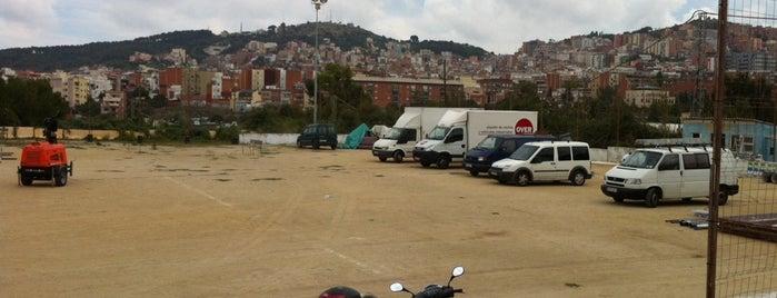 Camp De Futbol La Clota is one of Shooting locations.