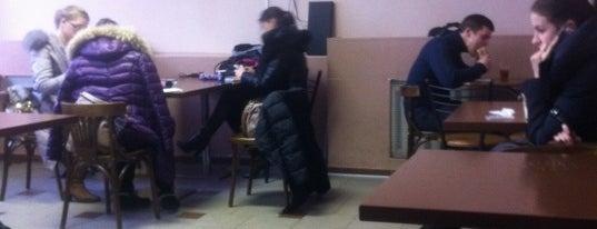 Буфет 3 корпус КНЕУ is one of Sasha : понравившиеся места.