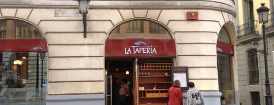 La Tapería is one of Madrid.