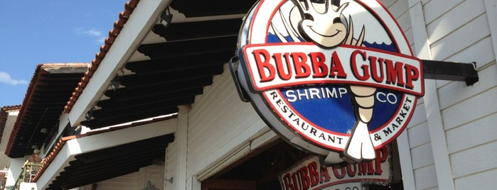 Bubba Gump Shrimp Co. is one of Top 10 restaurants when money is no object.