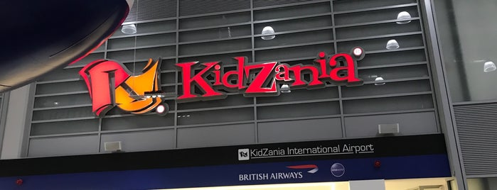 KidZania London is one of London.