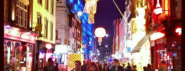 Chinatown is one of London Favorites.