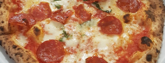 Forno d'Oro is one of Europe // 50 Top Pizza.