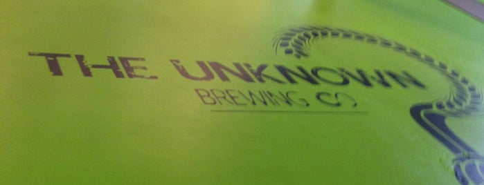 Unknown Brewing Co. is one of NC Beer.