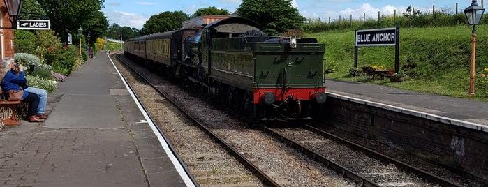 Blue Anchor Railway Station (West Somerset Railway) is one of Bob 님이 좋아한 장소.