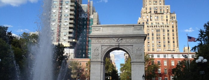 Washington Square Park is one of The Great Outdoors NY.