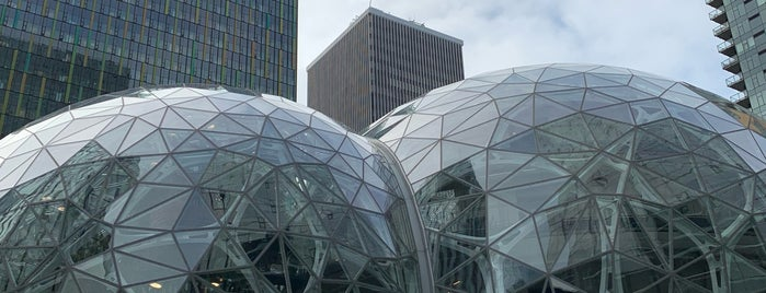 Amazon - The Spheres is one of Tempat yang Disukai Toy.
