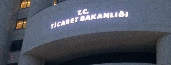 T.C. Ticaret Bakanlığı is one of Mastermind'in Beğendiği Mekanlar.