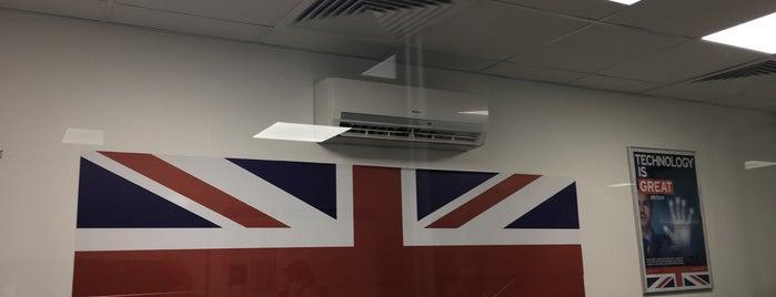 Визовый центр Великобритании is one of Dmitryさんの保存済みスポット.