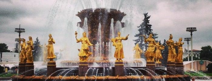 (VDNKh) Vystavka Dostizheniy Narodnogo Khozyaystva is one of Russia.