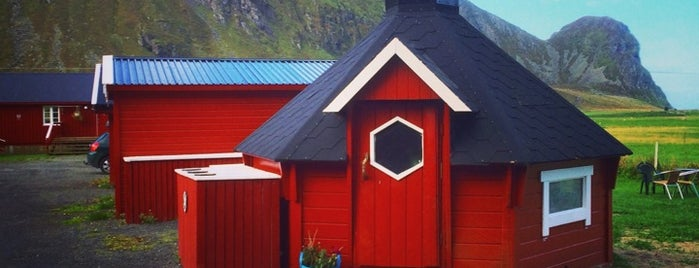 Unstad Camping is one of Lofoten // Norway.
