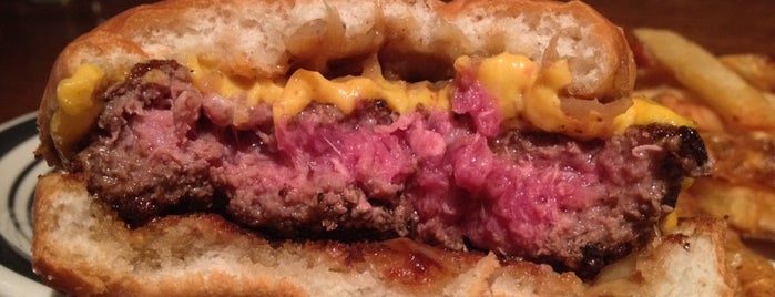 The Brindle Room is one of NYC Burger Quest.