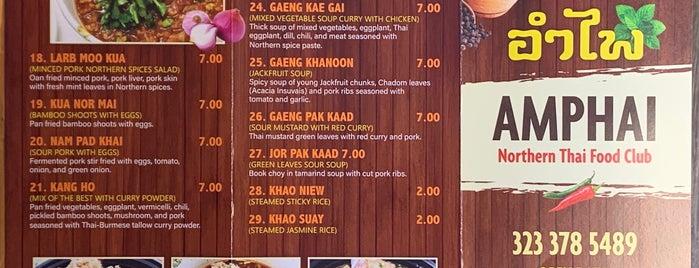 Northern Thai Food Club is one of Los Angeles.